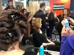 Antonino stylists were treated to Moroccan Oil Red Carpet Class on June 11, 2013