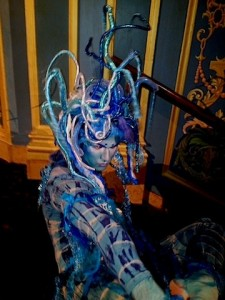 One of the Sea Creatures at The Detroit Opera Ball