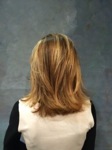 A natural looking Balayage technique done by Annette Abdelfatah of Antonino Salon and Spa