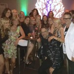 "Antonino Salon stylists celebrate winning ""Best Salon"""